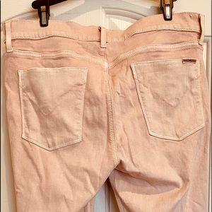 Hudson Nico Super Skinny Jeans in Apricot